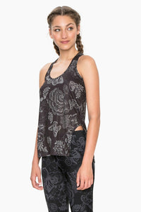 Racerback Top with Hip Cutout - Exorbidance