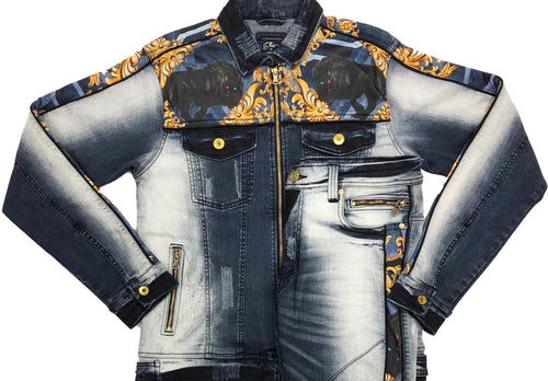 Elite Marine Denim Jacket (only)