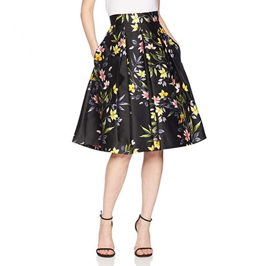 EJ Black and Yellow Skirt