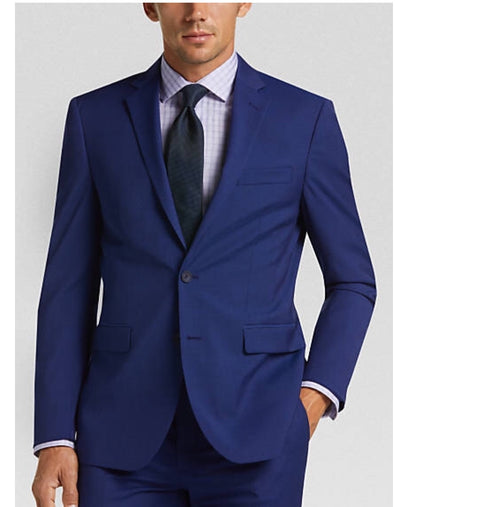 French Blue Mantoni Suit