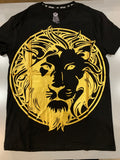 Black/Gold Lion XRay Graphic Tee