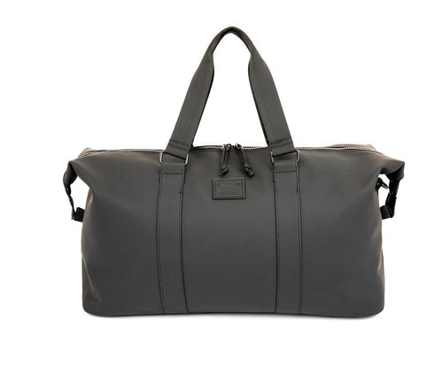 "XRay Black Leather ""Like"" Duffle"