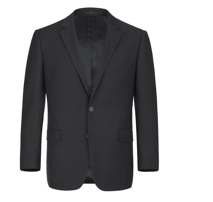Renoir 2pc Black Suit