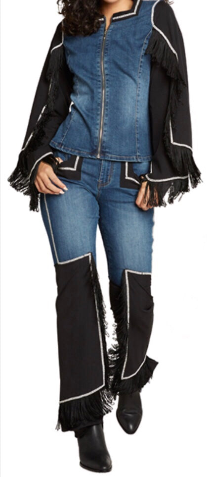 "Tes ""Rodeo"" Jean Set"