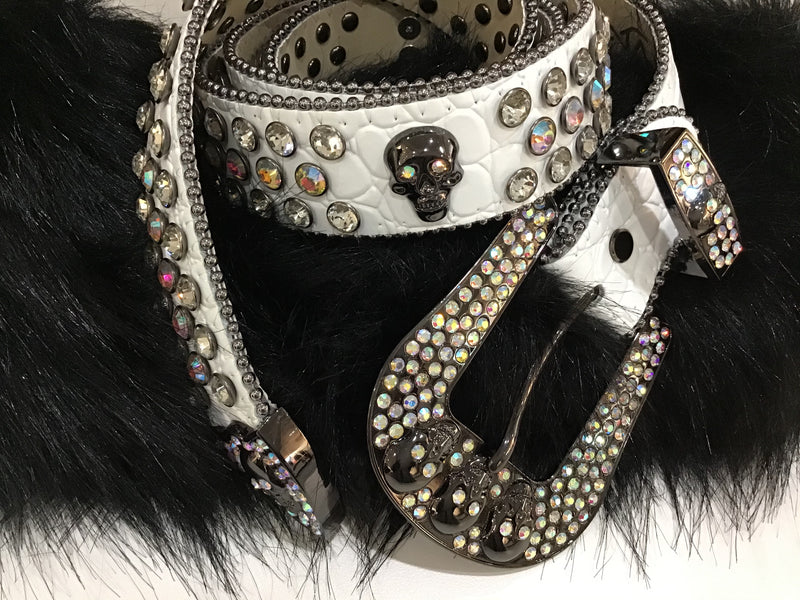 DNA Premium Rhinestone Exclusive Belts
