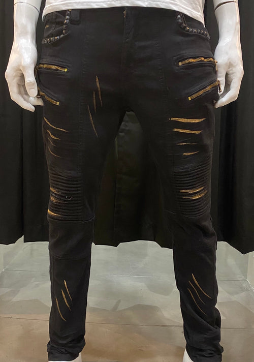 Elite Black Rock Denim