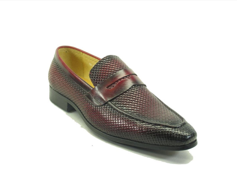 Carrucci Woven Brown