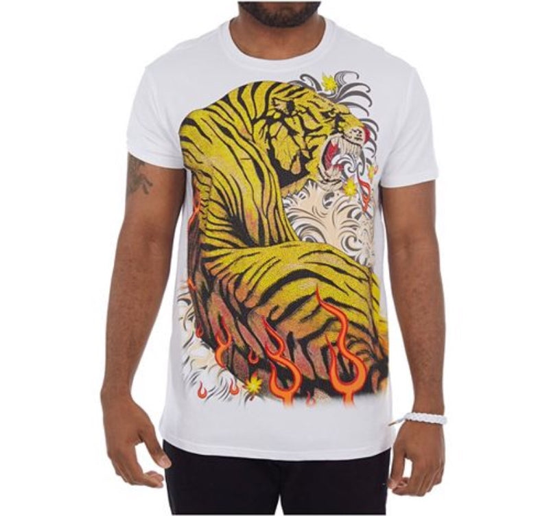 Blazing Tiger T-shirt w/Stones
