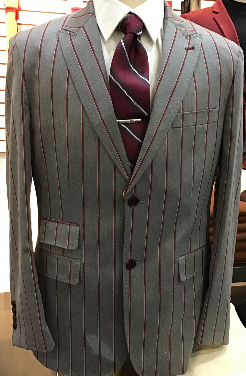 Cigar Couture Striped Blazers