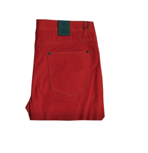 Enzo Red Rust Jeans