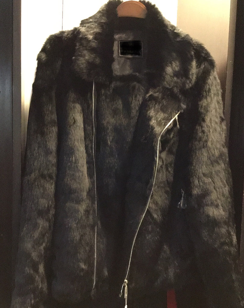 Short Rabbit Fur with/ Buckles