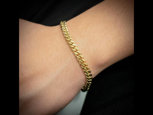 Miami Cuban link 8in. Bracelet