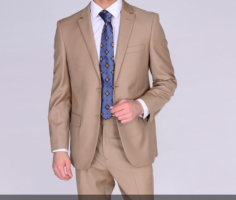 Camel Mantoni Suit