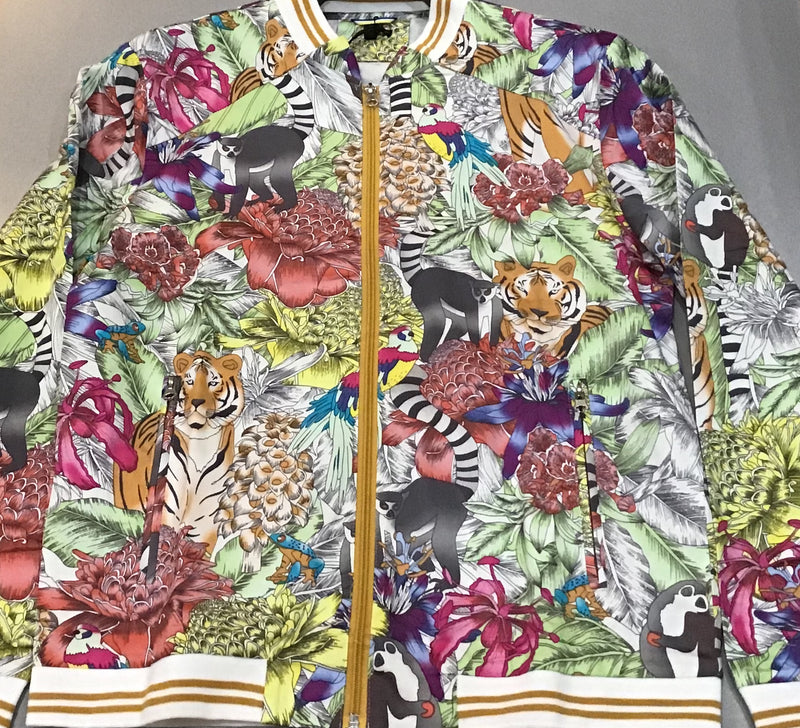 Multi Colored Animal Bomber