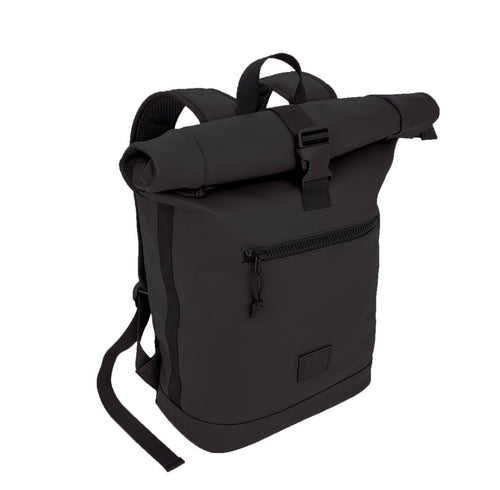 "XRay Black Leather ""Like"" Backpack"