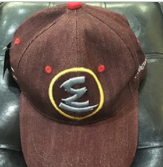 Elite Denim Hat (Burgundy)