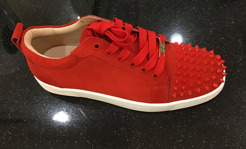 DNA - Blood Red Men Stud Shoes