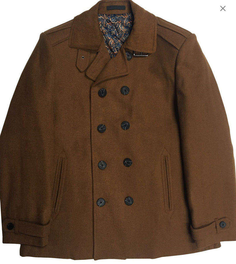 Inserch Double Breasted Peacoat