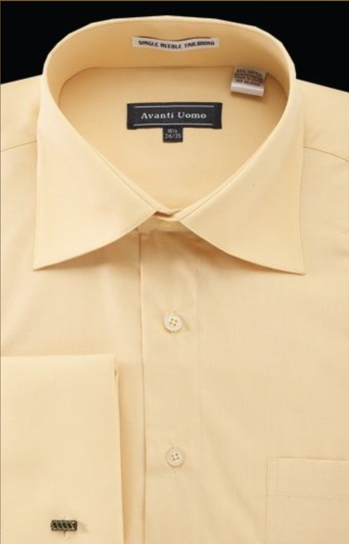 Avanti Corn/Mustard Dress Shirt