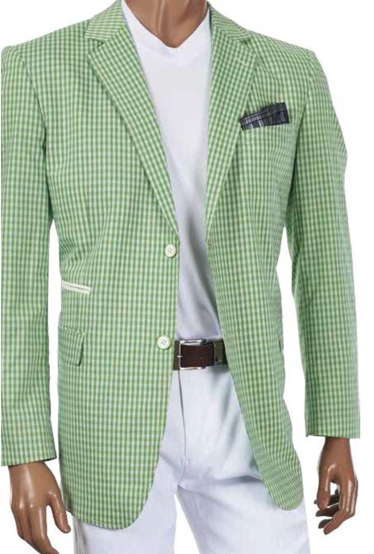 Inserch Linen Lime Blazer
