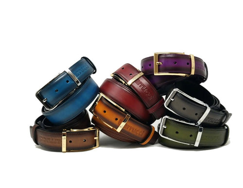Carrucci Leather Belts