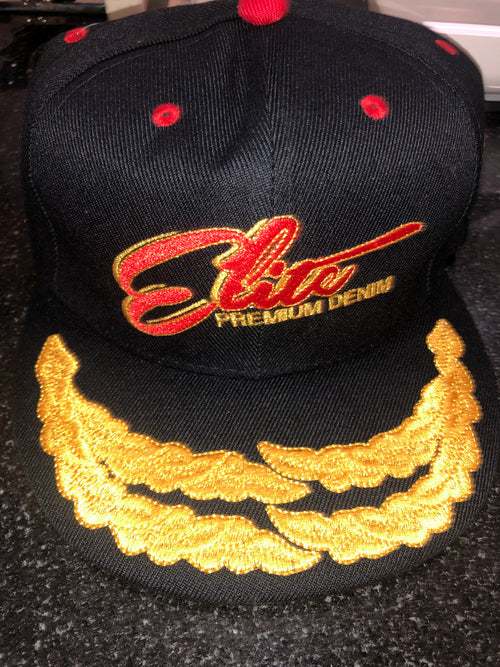 Elite Navy Blue Captain Hat
