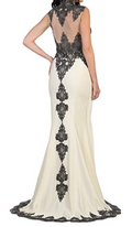 Ivory Queen Evening Gown