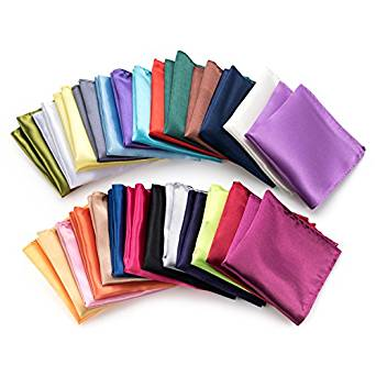 Solid Color Pocket squares