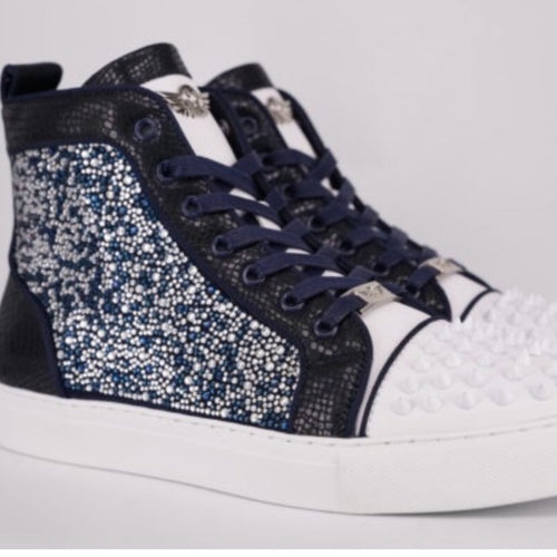 Razar Diamond-navy-white