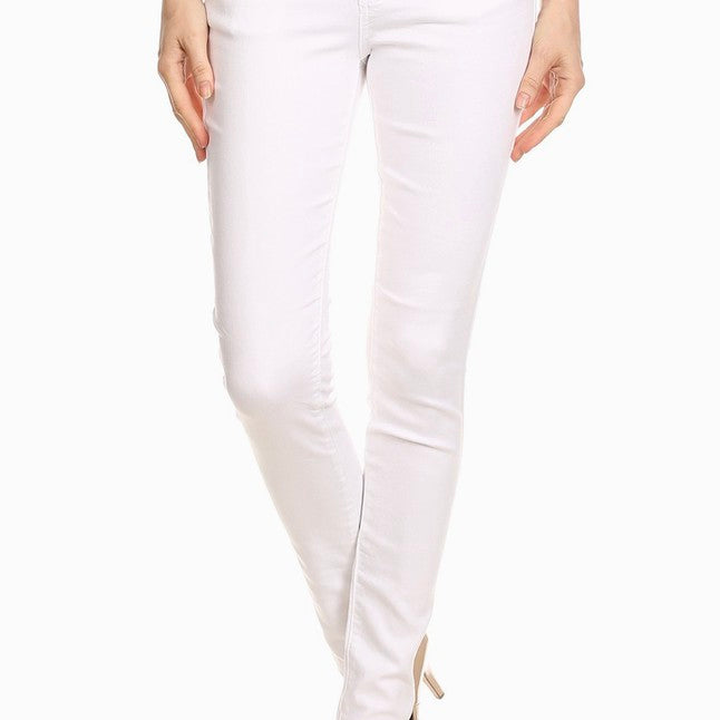 Denim White Jegging