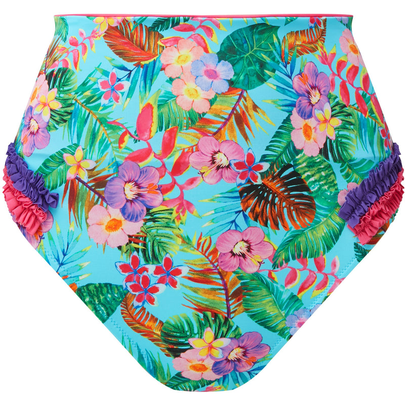 Blue Jungle Bikini Bottoms