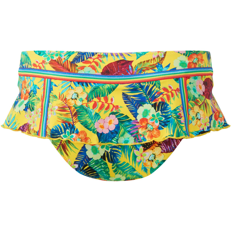 Totally Tropical Skirted Brief