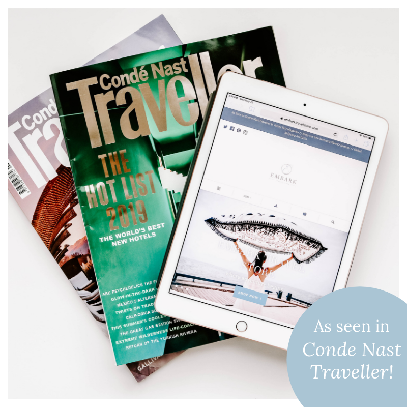 We're in Conde Nast Traveller Magazine!