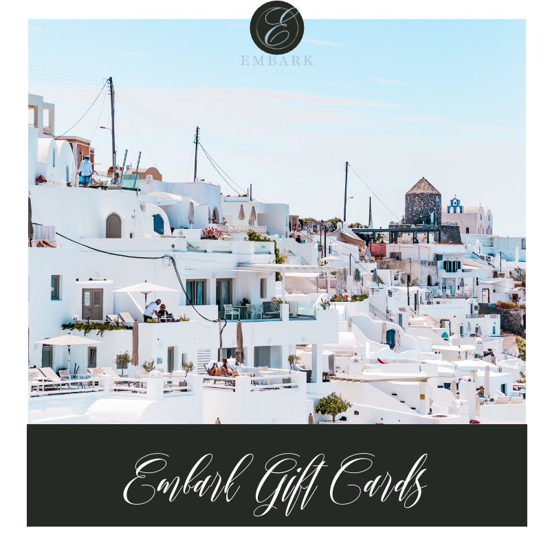 Give the Gift of Adventure With Embark Travel Store Gift Cards!