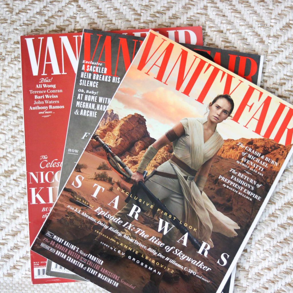 We're in Vanity Fair!