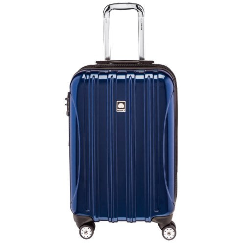 Delsey Luggage Luggage Helium aero Carry-on Spinner Trolley, Blue