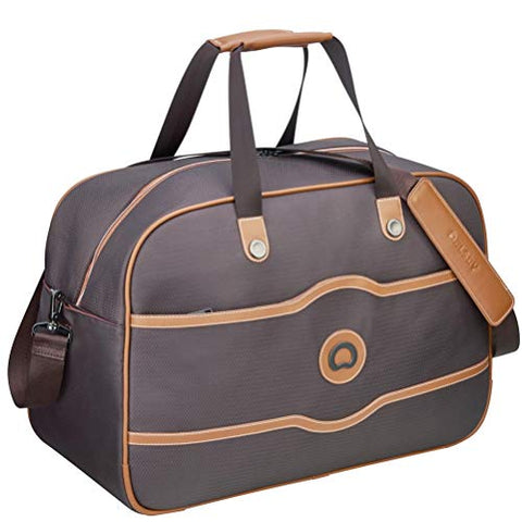 Delsey Luggage Chatelet Soft Air Weekender Duffel, Chocolate