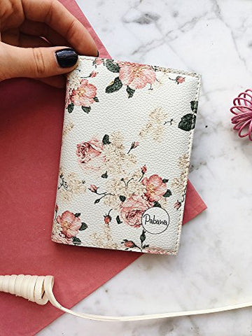Vintage Flower Passport Cover