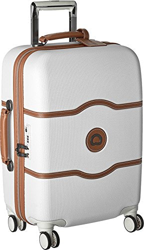 Delsey Luggage Chatelet Hard+ 21 Inch Carry On 4 Wheel Spinner - Champagne