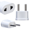 US to EU Travel Adapter - White