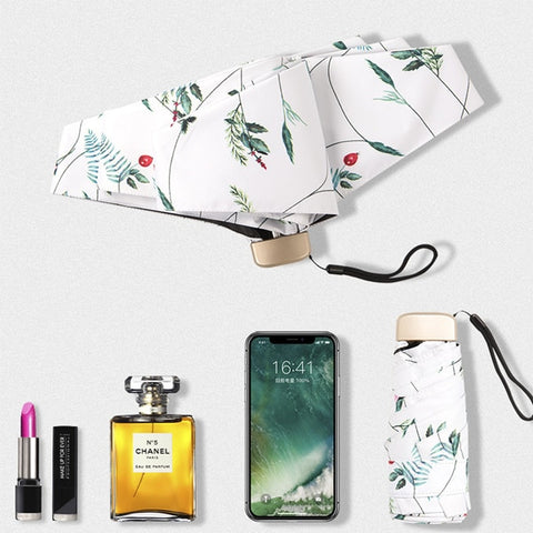 Savannah Floral Print Travel Umbrella