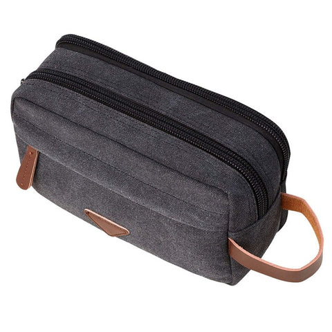 Men's Canvas Toiletries Case