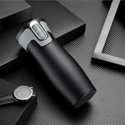Sparks Stainless Steel Travel Mug Black