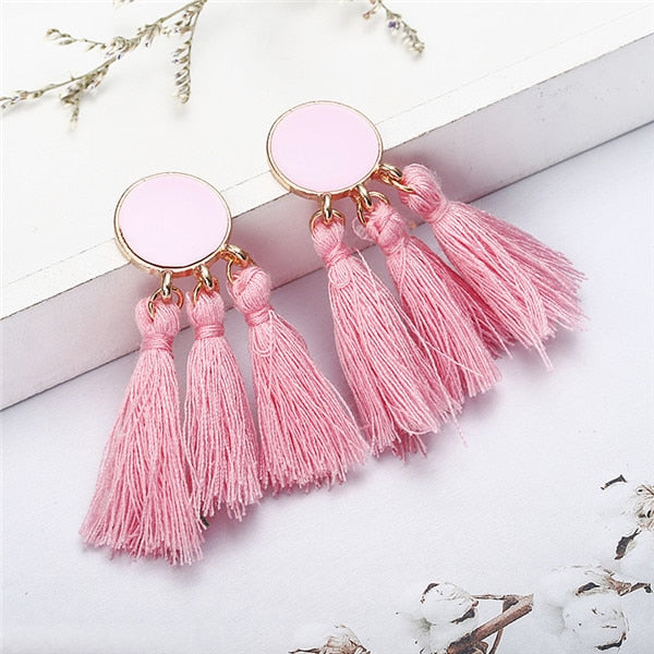 Cezanne Tassel Earrings