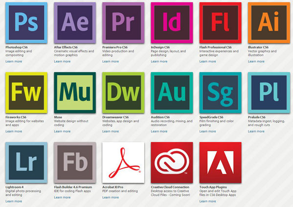 Adobe Creative Cloud 1 Jahr Multi-Device
