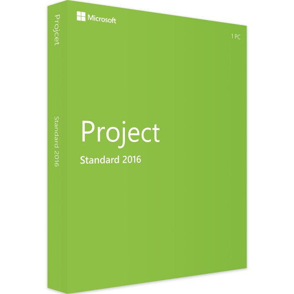 PROJECT 2016 STANDARD - 1PC - Product Key - Sofort Download