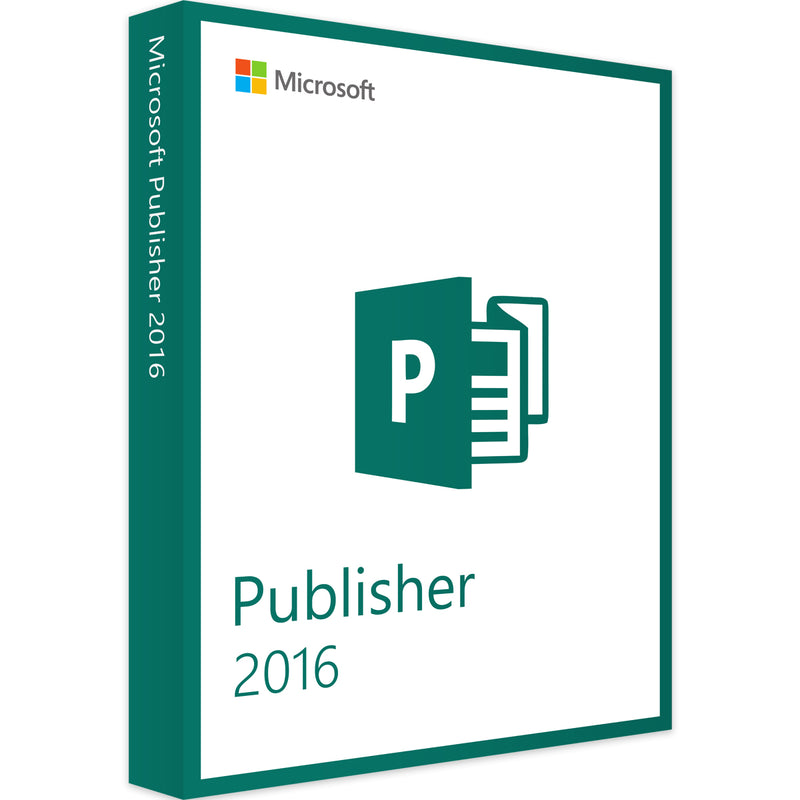 MICROSOFT PUBLISHER 2016 - 1PC - Product Key - Sofort Download