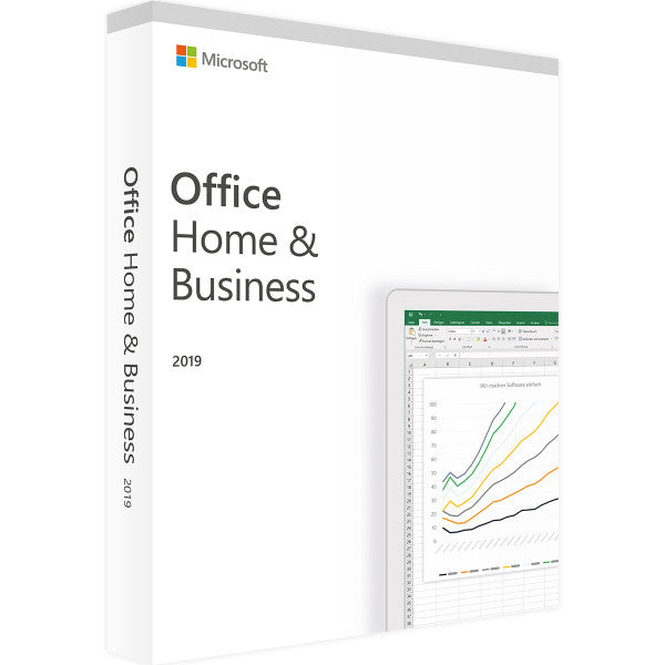 OFFICE 2019 HOME & BUSINESS - 1PC - Product Key - Sofort Download