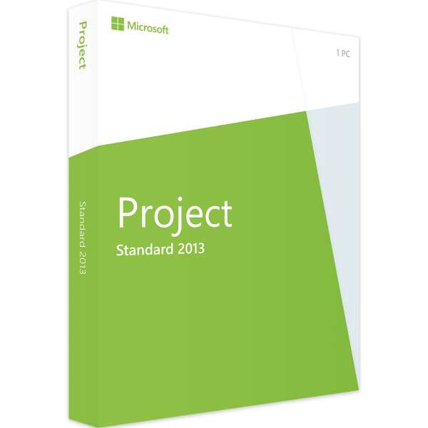 PROJECT 2013 STANDARD - 1PC - Product Key - Sofort Download
