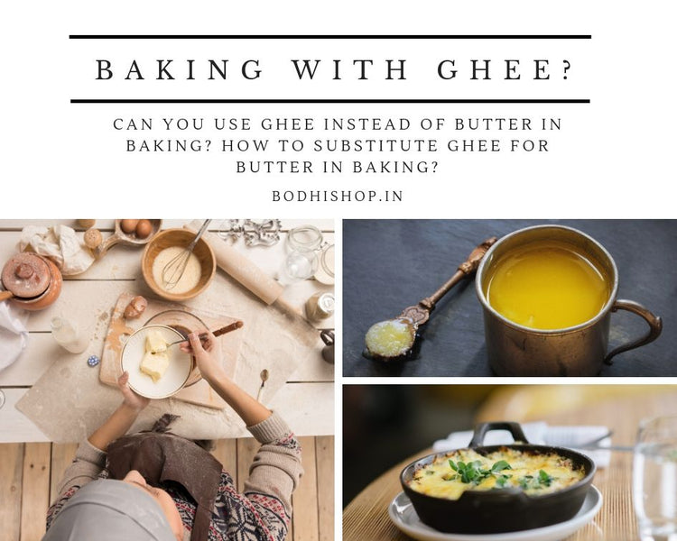Can we use Ghee instead of butter in baking?